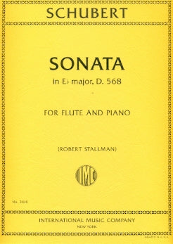 Sonata in E Flat Major, D568 (Flute and Piano)