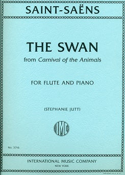 The Swan, from Carnival of the Animals (Flute and Piano)