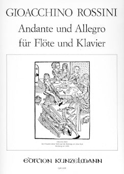 Andante and Allegro (Flute and Piano)