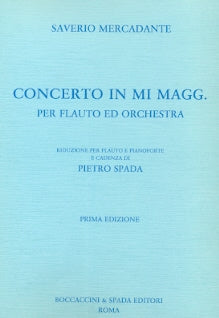 Concerto In E Major (Flute and Piano)