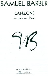 Canzone (Flute and Piano)