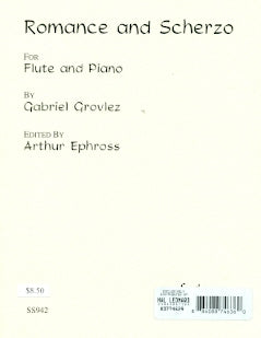 Romance and Scherzo (Flute and Piano)