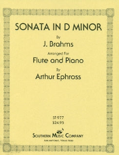 Sonata in D Minor (Flute and Piano)