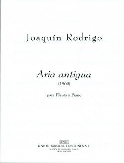 Aria Antigua (Flute and Guitar)