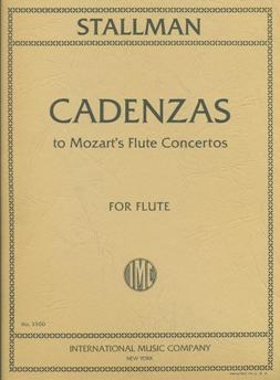 Cadenzas to the Mozart Flute Concertos K313 and K314 (Flute and Piano)
