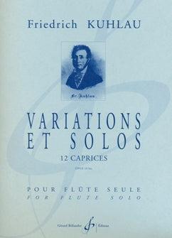 Variations et Solos - 12 Caprices