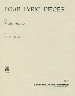 4 Lyric Pieces (Flute Alone)