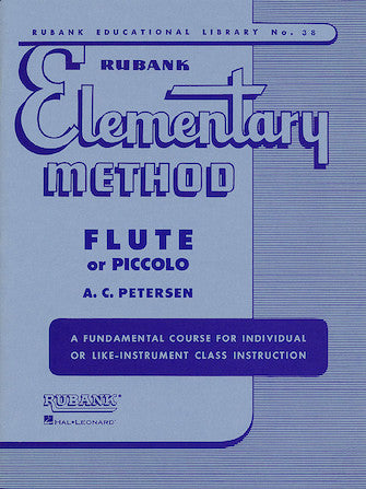Rubank Elementary Method  (Flute or Piccolo)