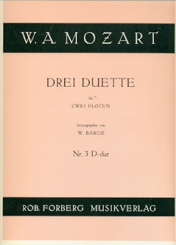 Duets (3) for Flutes: No. 3 in D Major