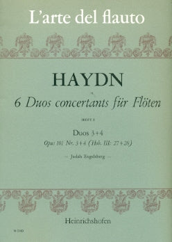 Duos Concertants (6) Op. 101 Vol. 2: Nos. 3 & 4 (Two Flutes)