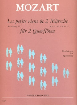 Les Petits Riens, K.Anh.10 & Marches (2) K335 Nos. 1 & 2 (Two Flutes)