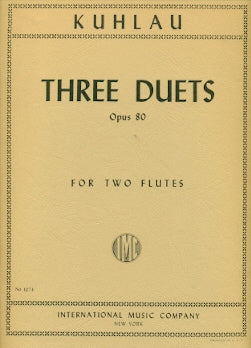 3 Duets Op. 80 (Two Flutes)