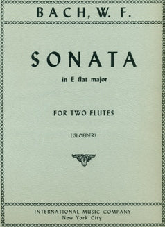 Sonata in E-Flat Major (Two Flutes)