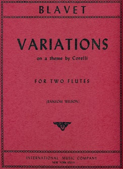Variations on a Theme by Corelli (Two Flutes)