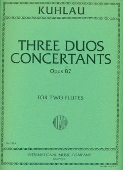 3 Grands Duos Concertants, Op. 87 (Two Flutes)
