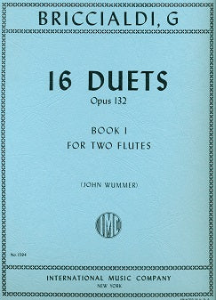 16 Duets,Op. 132 - Volume 1 (Two Flutes)
