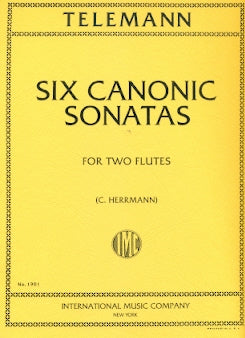 Six Canonic Sonatas (Two Flutes)