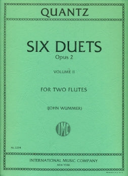 Six Duets, Op. 2 - Volume 2