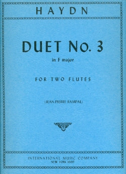 Duet No. 3 in F Major (Two Flutes)