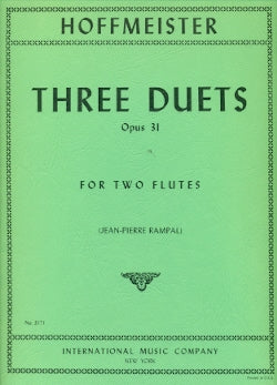 Three Duets, Op. 31