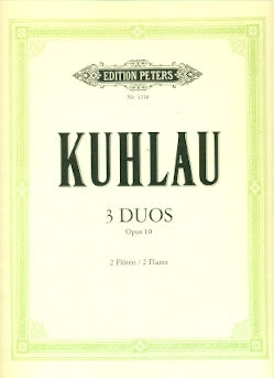 3 Duos Concertantes Op. 10 (Two Flutes)