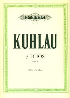 3 Duos Op. 80 (Two Flutes)
