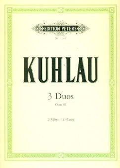 3 Duos Op. 81 (Two Flutes)