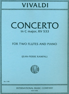 Concerto in C Major, RV533 (Two Flutes and Piano)