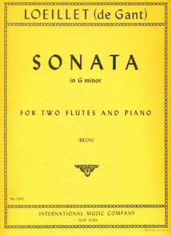 Sonata in G minor (Two Flutes)