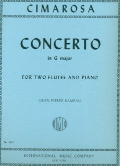 Concerto in G Major for 2 Flutes (Two Flutes and Piano)