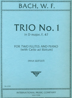 Trio No. 1 in D Major, F. 47 (Two Flutes)
