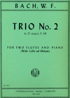 Trio No. 2 in D Major, F. 48 (Two Flutes)