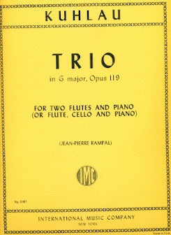 Trio, Op. 119 (Two Flutes)