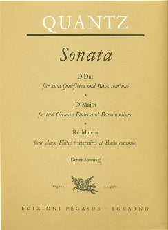Sonata in D Major (Two Flutes)