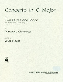 Concerto in G Major for 2 Flutes