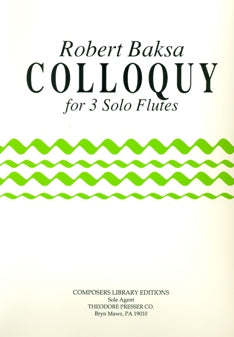 Colloquy (Three Flutes)