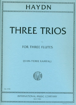 Three Trios (Three Flutes)