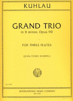 Grand Trio in B minor, Op. 90 (Three Flutes)