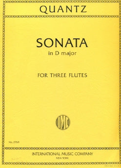 Sonata in D Major (Three Flutes)
