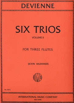 Six Trios, Volume 2 (Three Flutes)