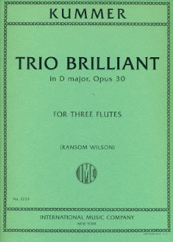 Trio Brillante in D Major, Op. 30 (Three Flutes)
