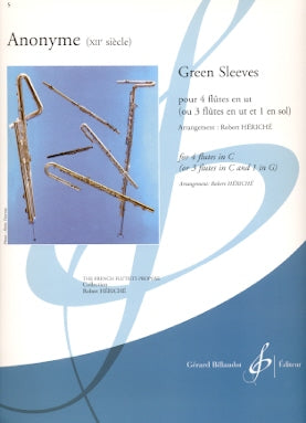 Greensleeves (4 Flutes)