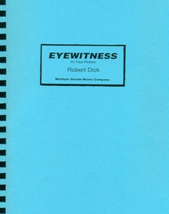 Eyewitness (Parts Only) (Four Flutes)