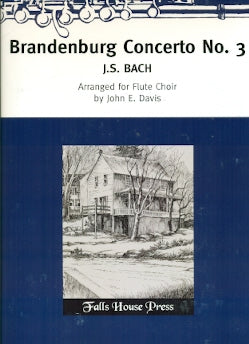 Brandenburg Concerto No. 3 (Flute Choir)