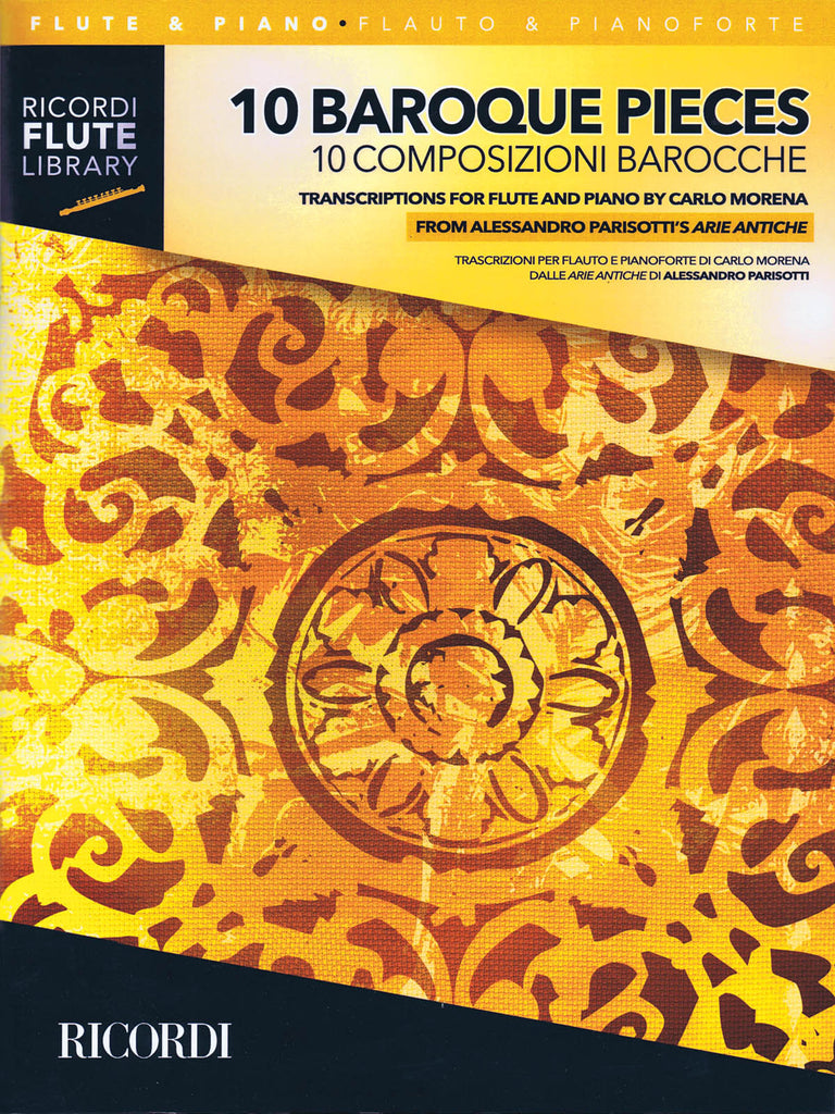 10 Baroque Pieces (Flute and Piano)