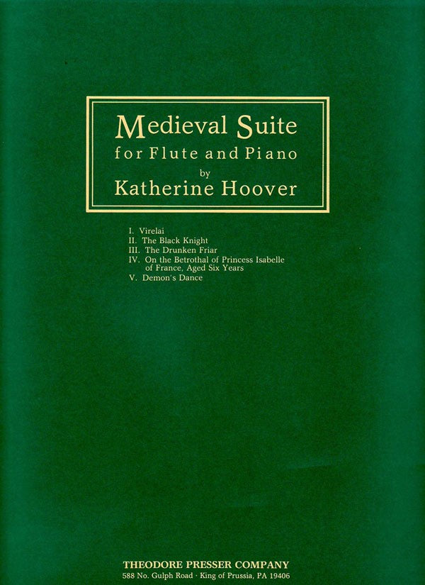 Medieval Suite (Flute and Piano)