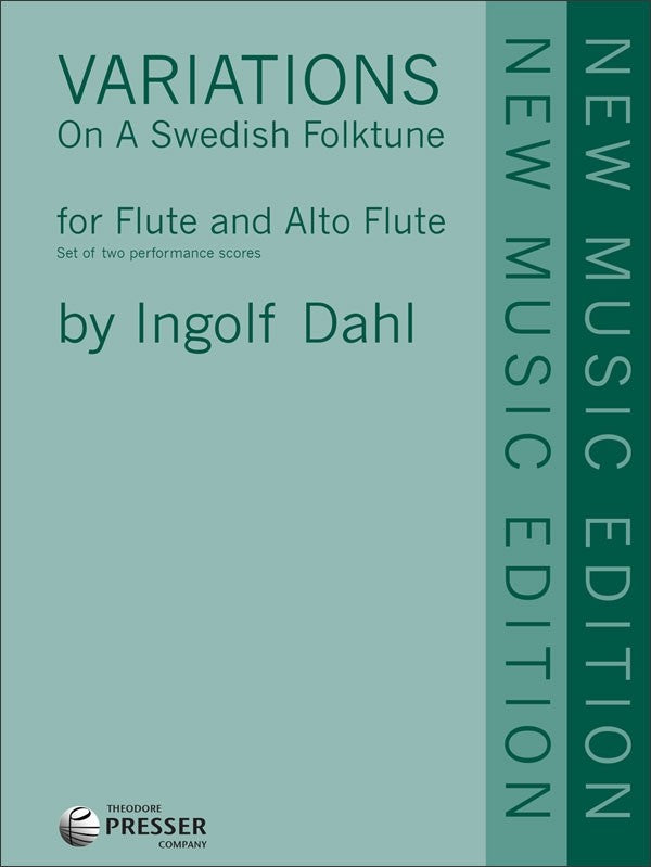 Variations On A Swedish Folktune (Flute and Alto Flute)