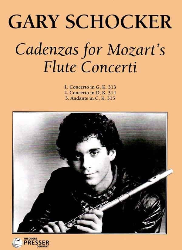 Cadenzas for Mozart's Flute Concerti (Flute and Piano)