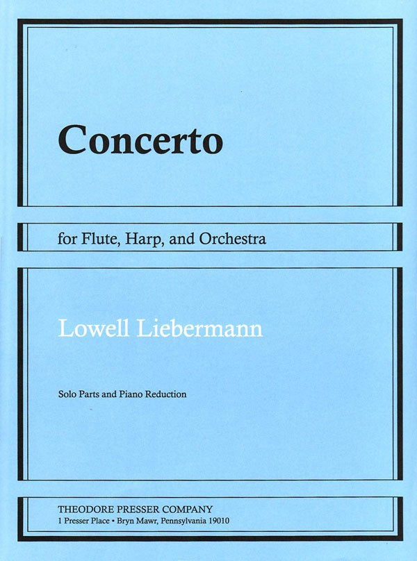 Concerto for Flute, Harp and Orchestra, Op. 48 (Flute and Harp)