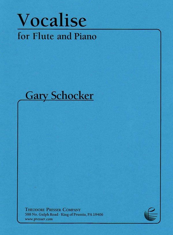 Vocalise (Flute and Piano)
